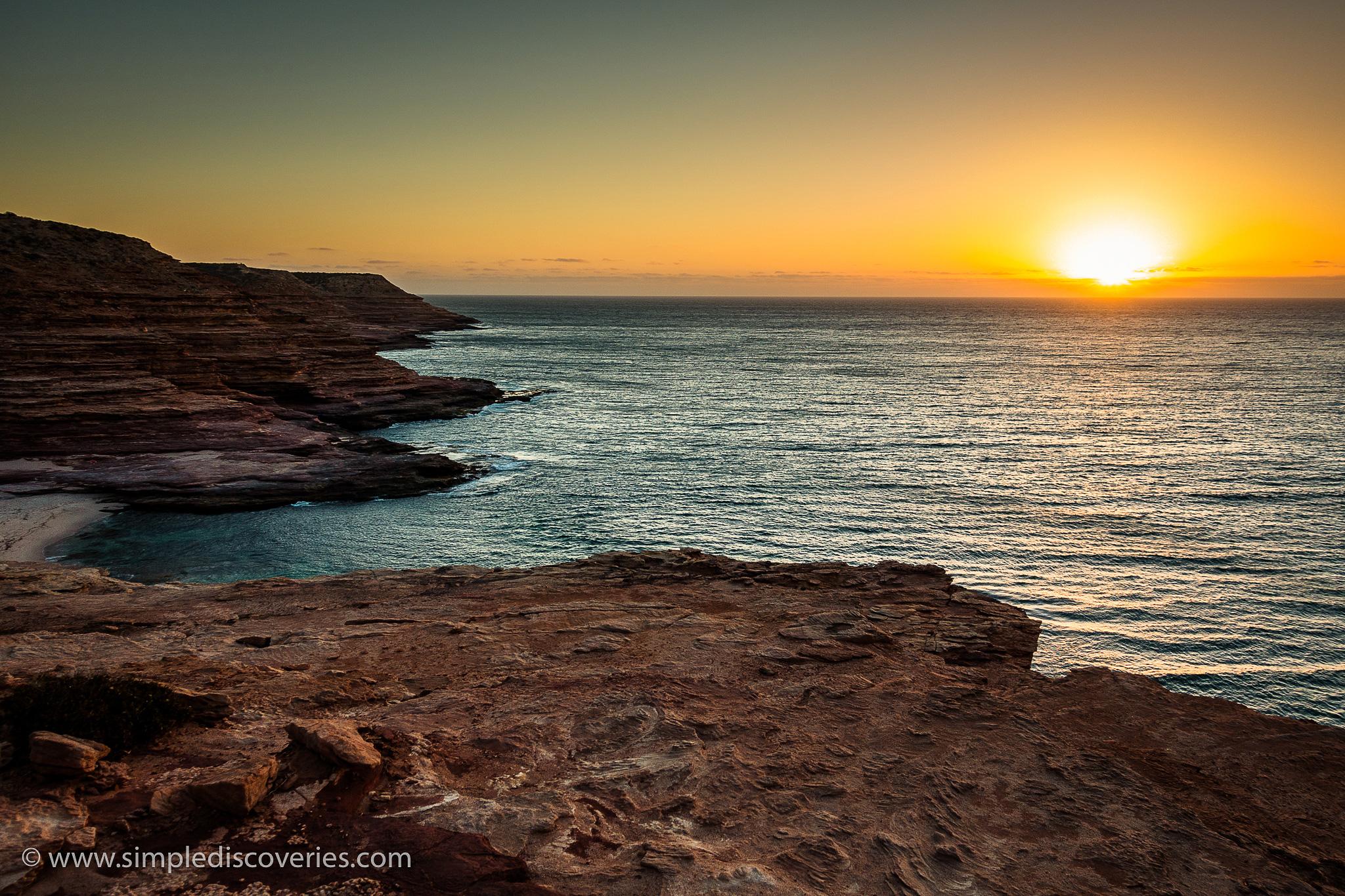 australia_kalbarri_sunset