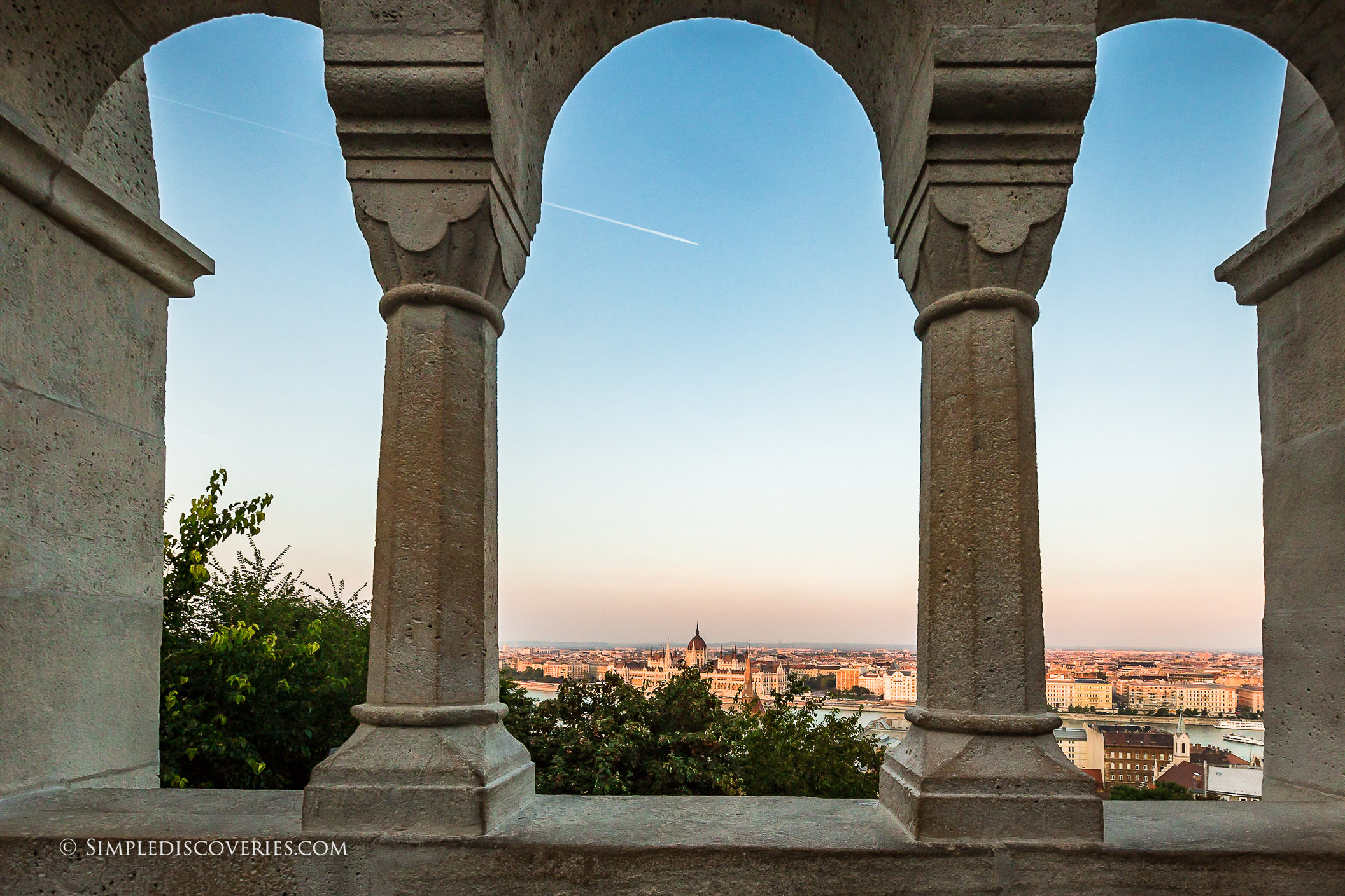 view_from_fishermans_bastion_budapest