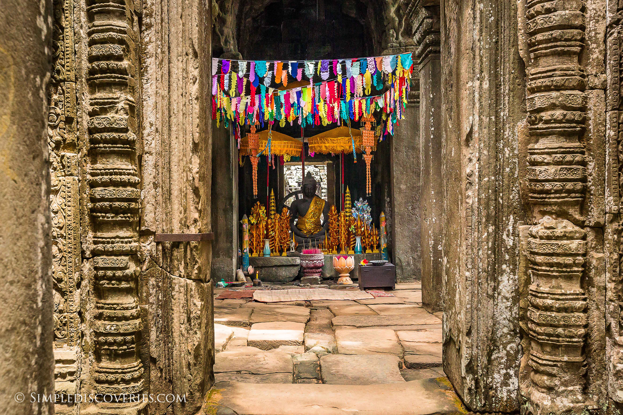 cambodia_banteay_kdei_altar