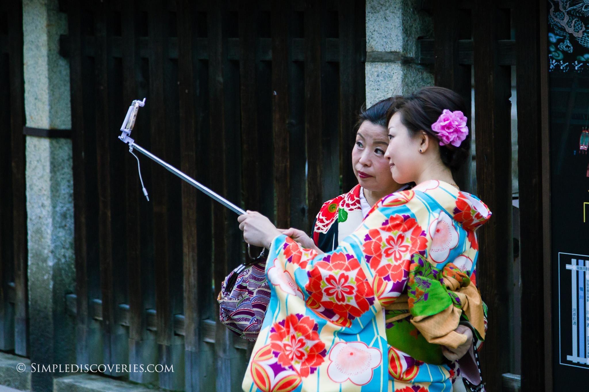 Kimono_Selfie_Japan