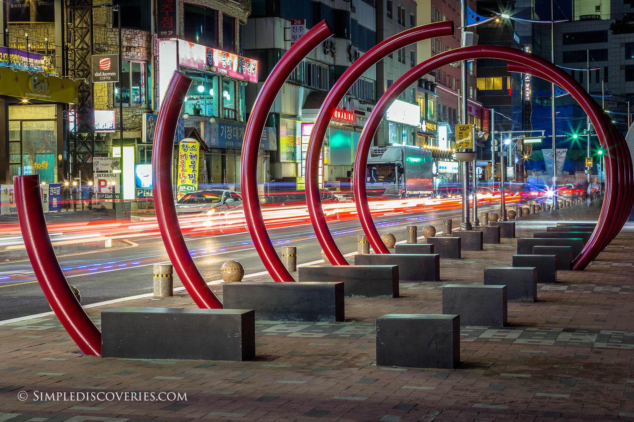 gwangalli_beach_night_traffic_korea