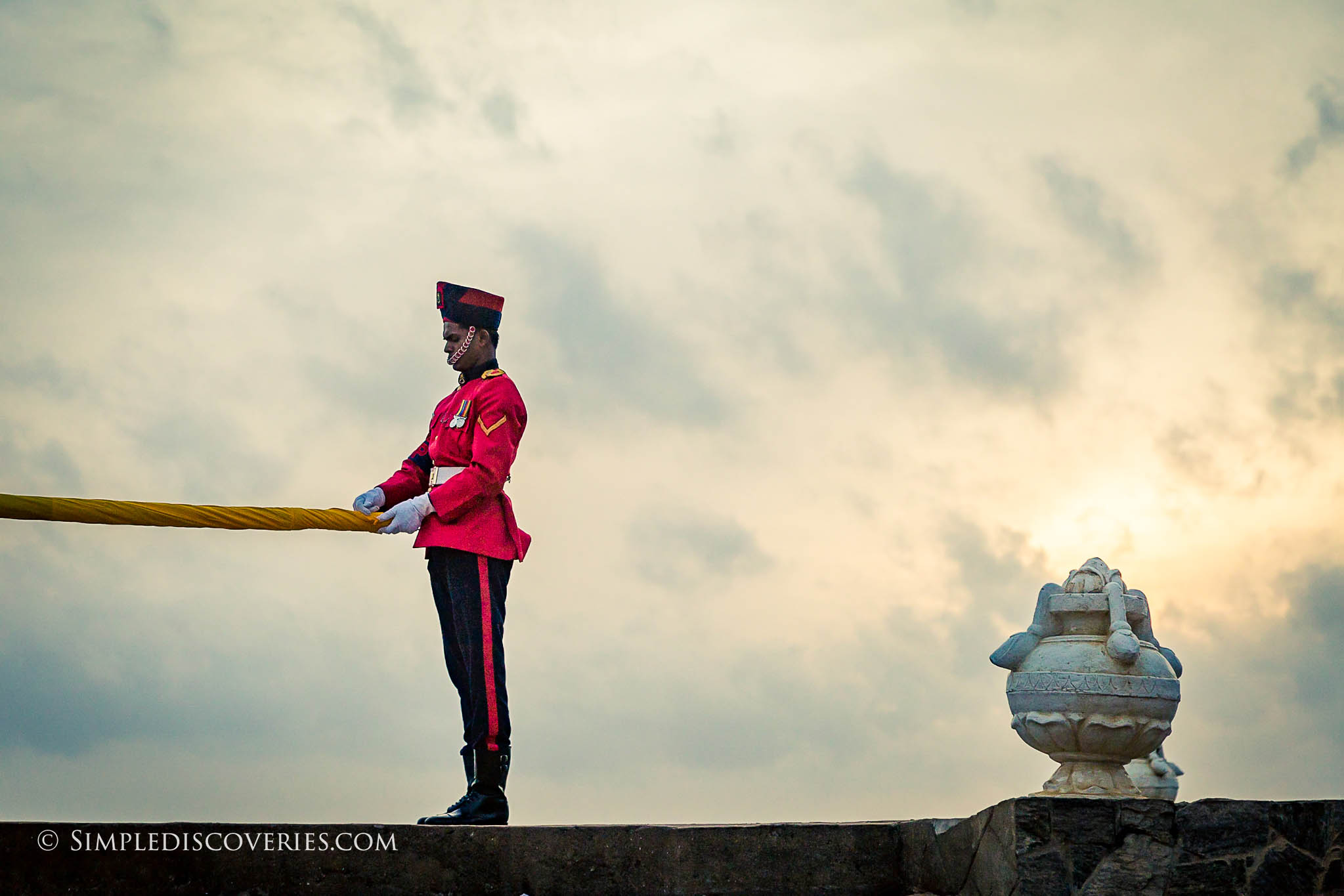 srilanka_flag_guard