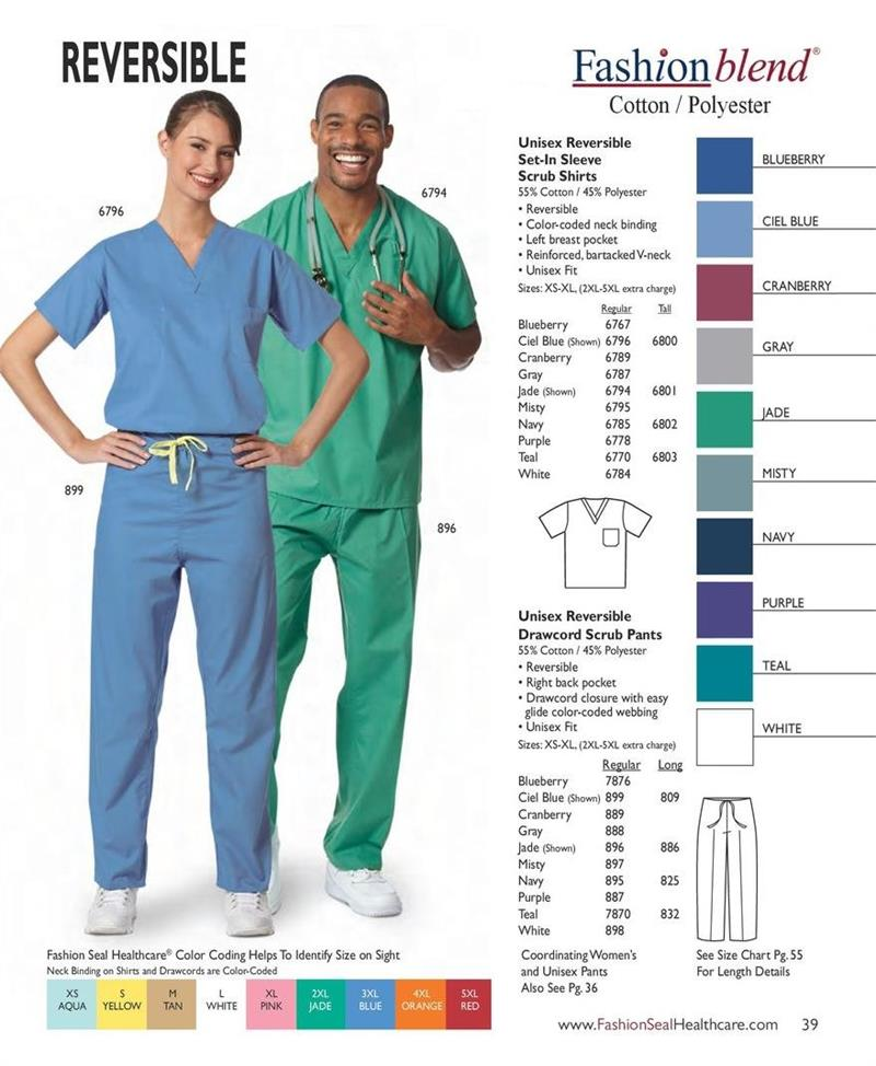 Fashion seal medical scrubs