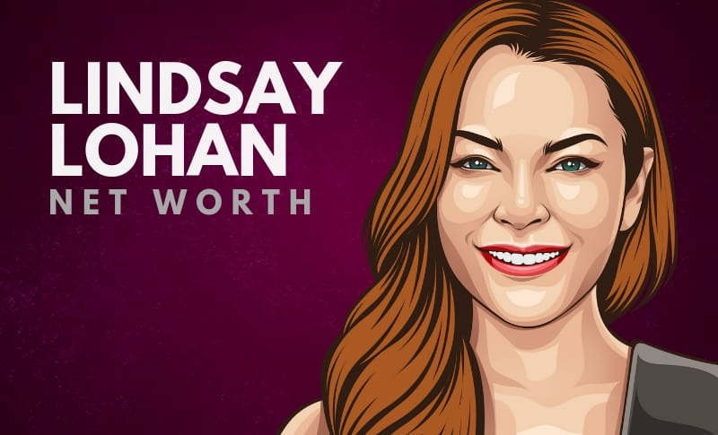 How much is lindsay lohan worth