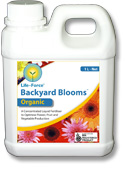 backyard boost, organic home garden fertilizer