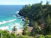 norfolk island - beach