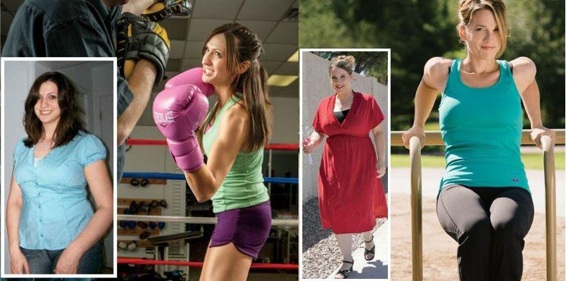 Реальное похудение с фото до и после