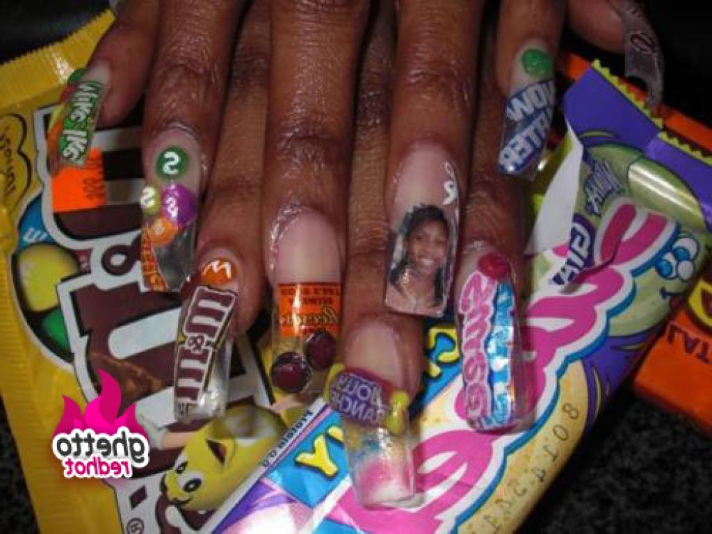 Ghetto nails designs pictures