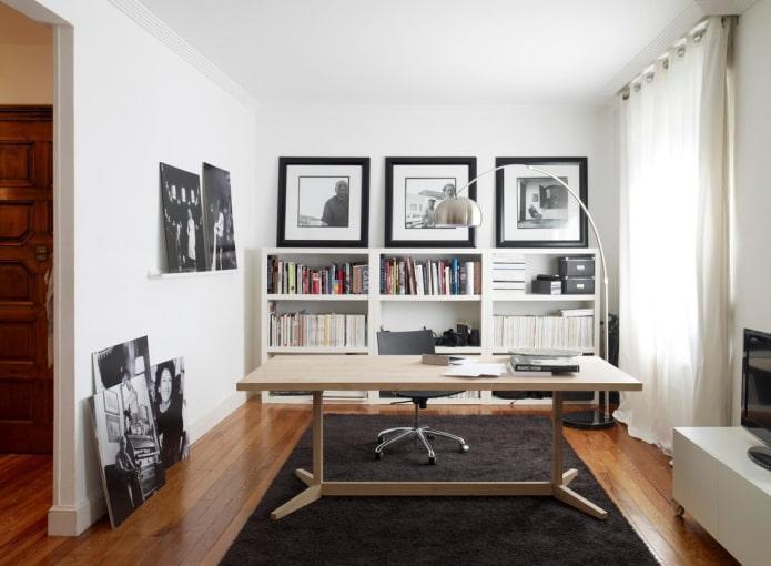 фотографии в интерьере кабинета