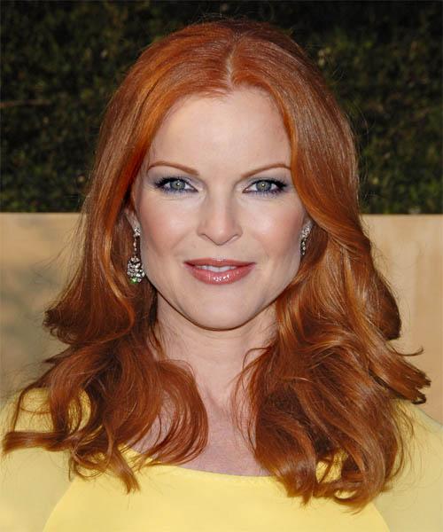 Dark red hair color celebrities