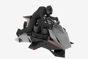 "Flying Motorcycle ""Speeder"" will be introduced in 2020"
