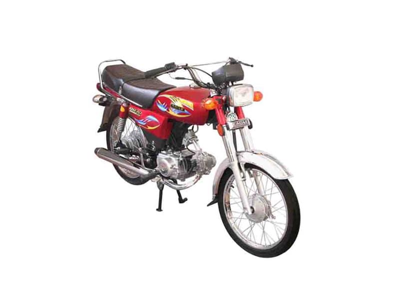 Eagle Fire Bird DG70 Bike Specs & Features Pakistan