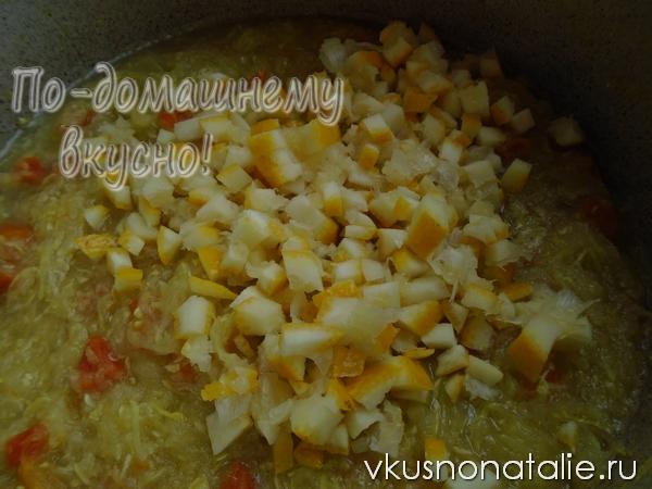 кабачковое варенье пошаговый рецепт с фото