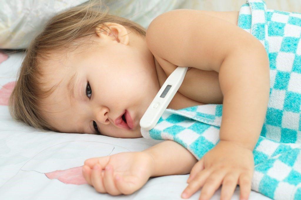Для новорожденного жаропонижающее