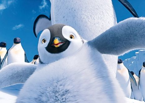 Brad pitt happy feet