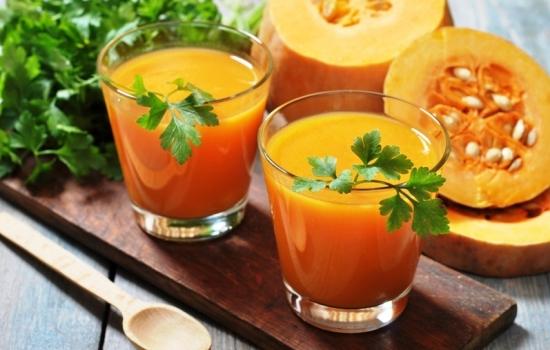 Сок тыква с апельсином