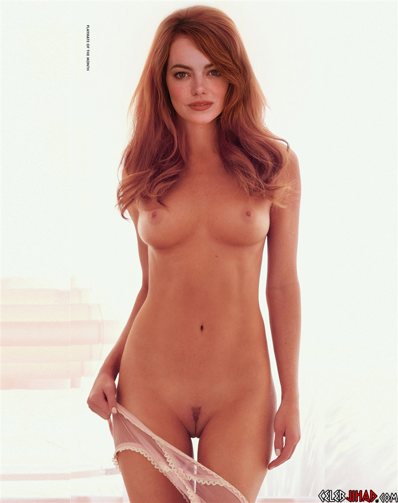 Emma Stone nude Playboy