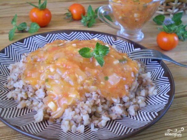 Томатный соус для гречки