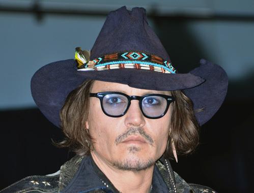 Джонни депп зрение