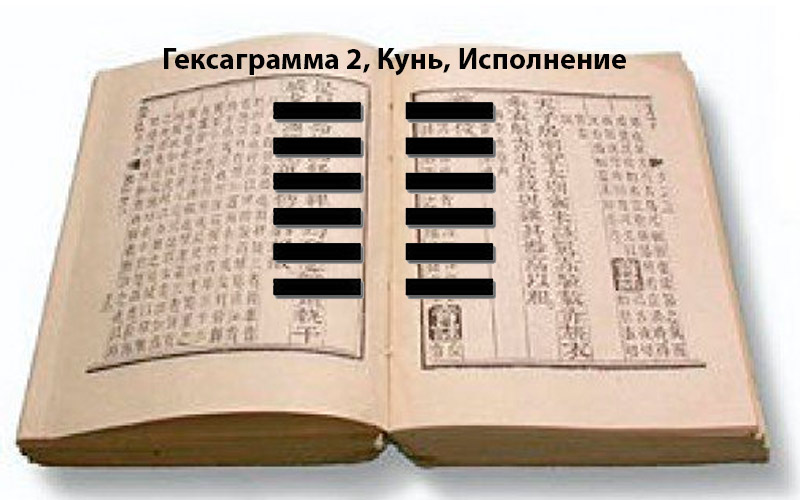 Книга перемен толкование гексаграмм 2