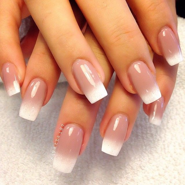 French nails designs pictures