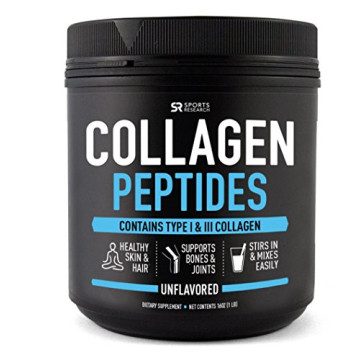 Pure Hydrolyzed Collagen Peptides, Dietary Supplement, Grass Fed, 16 OZ