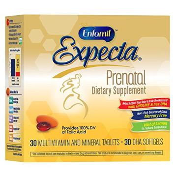 Enfamil Expecta Prenatal Dietary Supplement, 60 tablets