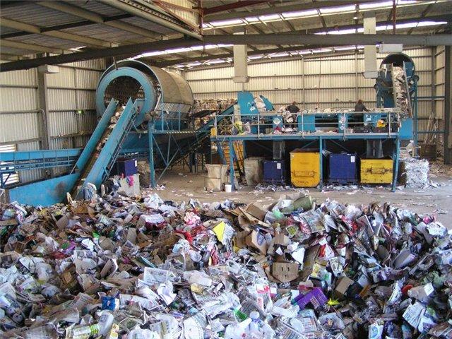 Бизнес план по сортировке мусора