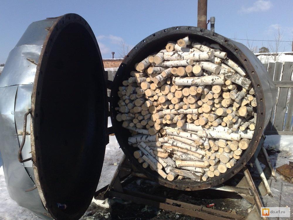 Цена печи для изготовления древесного угля