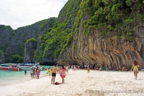 Пляж из фильма на Пхи-Пхи Лей