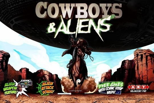 Игровые автоматы Cowboys & Aliens играть бесплатно