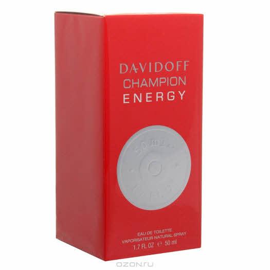 Davidoff «Champion Energy». Туалетная вода, 50 мл