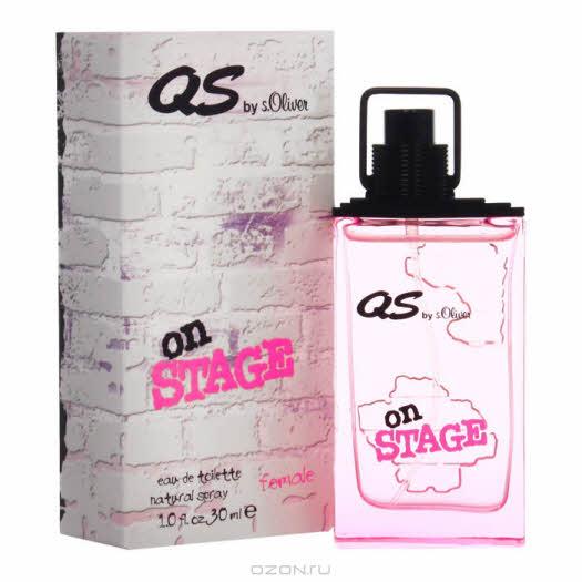 """купить в интернет магазине: S.Oliver """"On Stage Woman"""". Туалетная вода, 30 мл"""