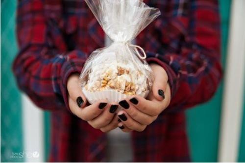 Шарики из попкорна
