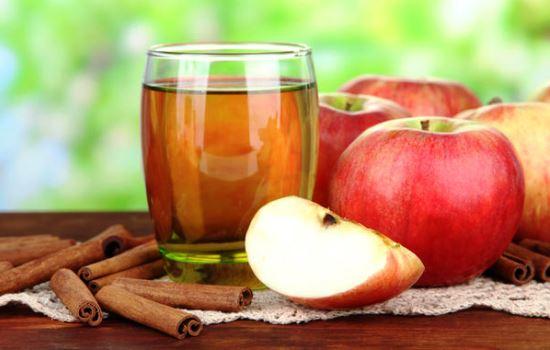 Яблочный сок без соковыжималки в домашних условиях