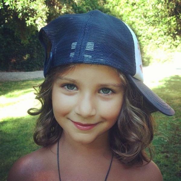На фото: дочь Ивана Урганта Нина