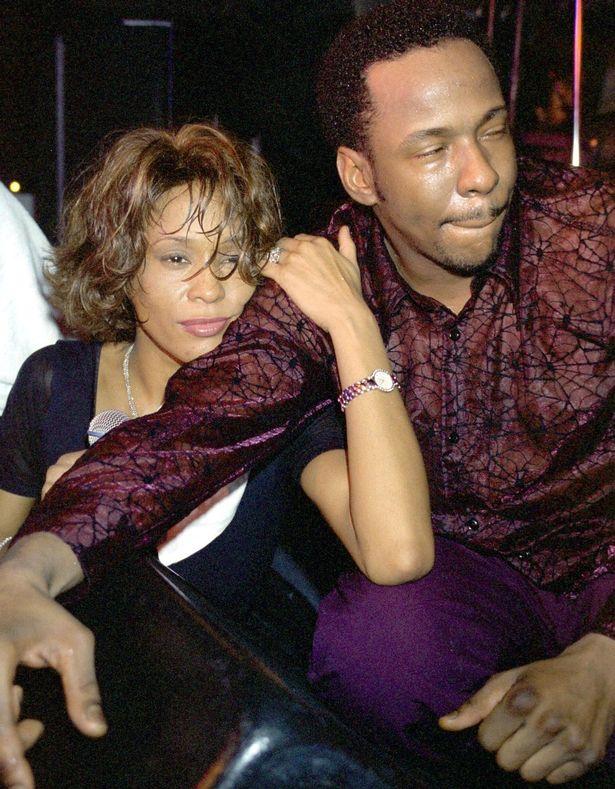 Whitney houston addiction pictures