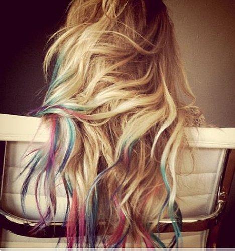 Lauren conrad tie dye tips