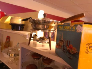 No mid-century house is complete without a fondue pot or ten.