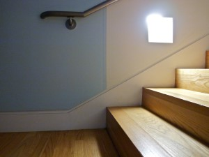 Baseboard Detail - Stairs