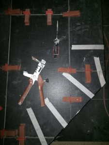 Raimondi tile leveling pliers.