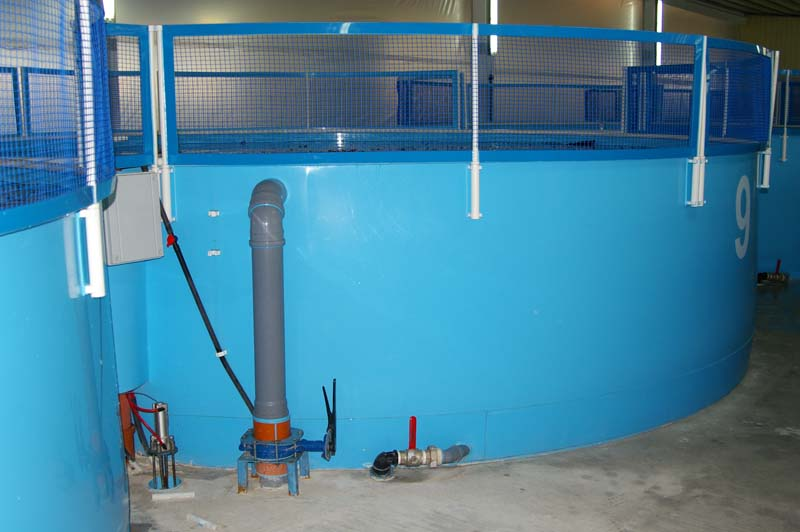 Оборудование для разведение рыбы