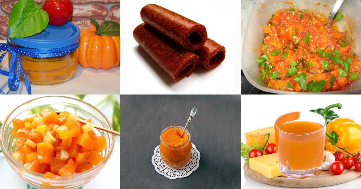 Рецепты заготовок на зиму из тыквы