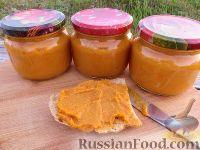 Фото к рецепту: Кабачковая икра с болгарским перцем (из запечённых овощей)