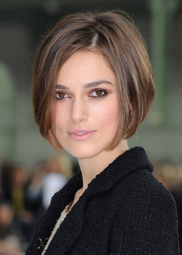Keira knightley hairstyles short