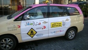 Growing Demand of Pink Taxis in Dubai