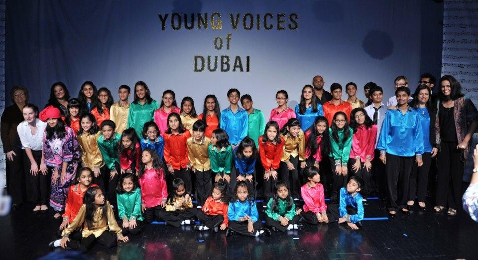 Young Voices of Dubai present a concert
