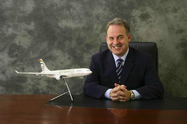 Etihad Airways CEO wins leadership award