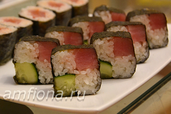 Сварить рис для суши в домашних условиях