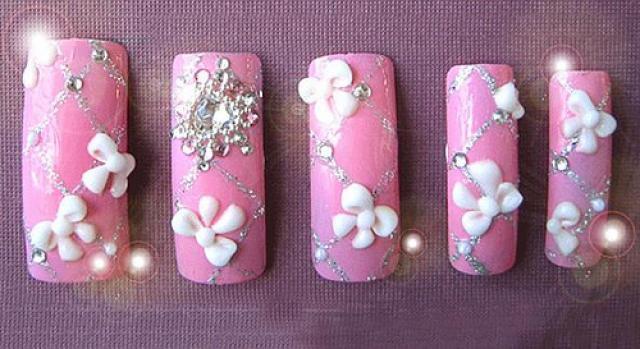 Artificial nails designs
